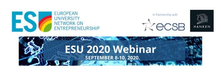 ESU Webinar 8-10 September